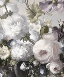 Elegante composizione di fiori bianchi