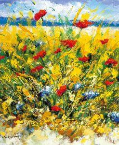 Fiori vicino alla spiaggia