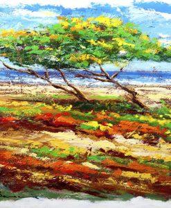 Pini marittimi su una spiaggia