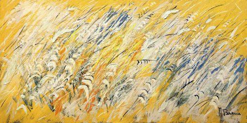 Campo di grano d'estate