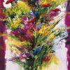 Bouquet con fiori di campo multicolore