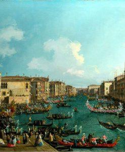 Regata sul Canal Grande di Venezia