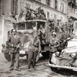 Milano Corso XXII Marzo 28 Aprile 1945 - Liberazione