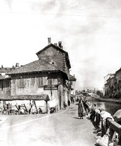 Milano Vicolo dei Lavandai 1922