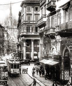 Milano-Corso Vittorio Emanuele II-1926