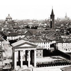 Milano Piazza XXIV Maggio 1880