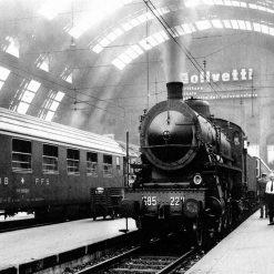 Milano Stazione Centrale 1962