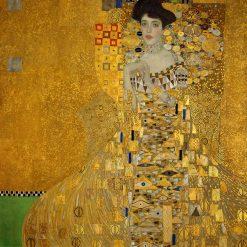 Gustav Klimt ritratto di Adele Bloch Bauer 1907