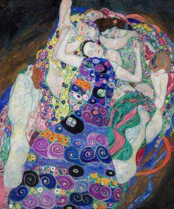 Quadro La Vergine Gustav Klimt