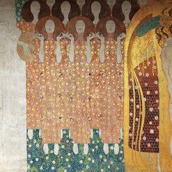 Gustav-Klimt-Le-Arti-Il-Coro-del-Paradiso-L'Abbraccio