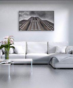 Ambientazione Vista dal basso dell'Empire State Building