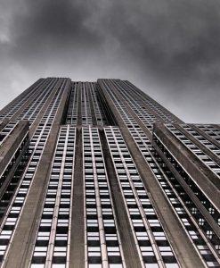 Vista dal basso dell'Empire State Building