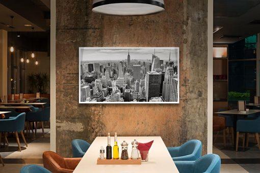Ambientazione Manhattan dall'alto