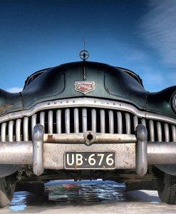 Vecchia automobile americana
