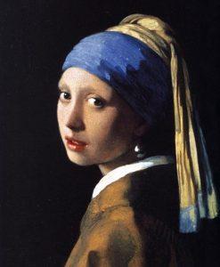 Famoso ritratto olandese di una ragazza