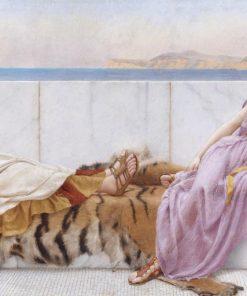 Un anziano e una ragazza della Grecia classica