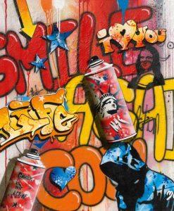 "Graffito ""smile"""