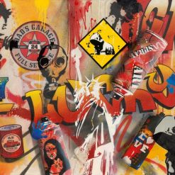 """Graffito newyorchese """"get lucky"""""""