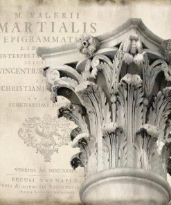 Capitello classico in stile corinzio