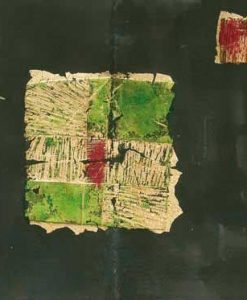 Composizione con pezzi di poesia e elementi grafici