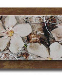 Tema in rilievo - Decori materici in resina - Dettagli color argento