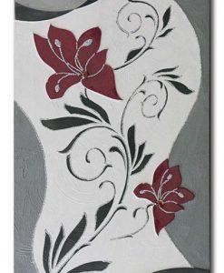 Tema in rilievo - Decori materici - Dettagli fancy stones glitter e foglia metallica color argento