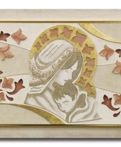 Tema in rilievo - Decori materici - Dettagli in foglia metallica color argento