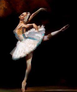 Ballerina del lago dei cigni