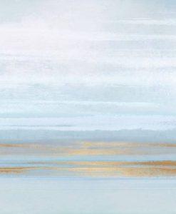 Orizzonte marino dai colori chiari
