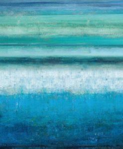 Dipinto astratto dell'acqua