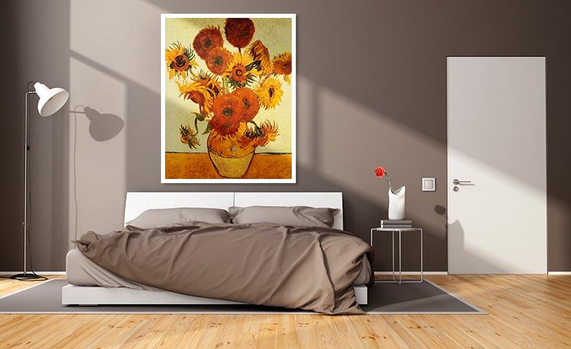 Vincent Van Gogh I Girasoli Art Plus Vendita Stampe Su Tela Quadri E Poster