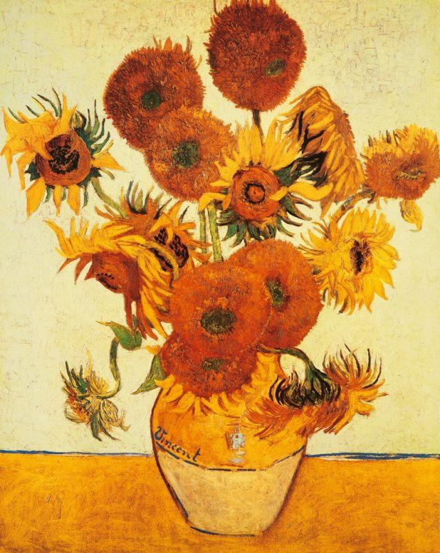 Vincent van gogh i girasoli art plus vendita stampe su for Girasoli di van gogh da colorare