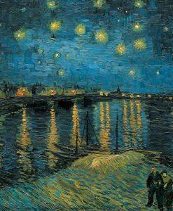 Celebre dipinto di una serata sul Rodano