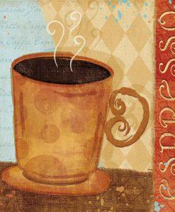 Tazza di espresso briosa
