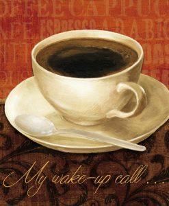 Messaggio con caffè
