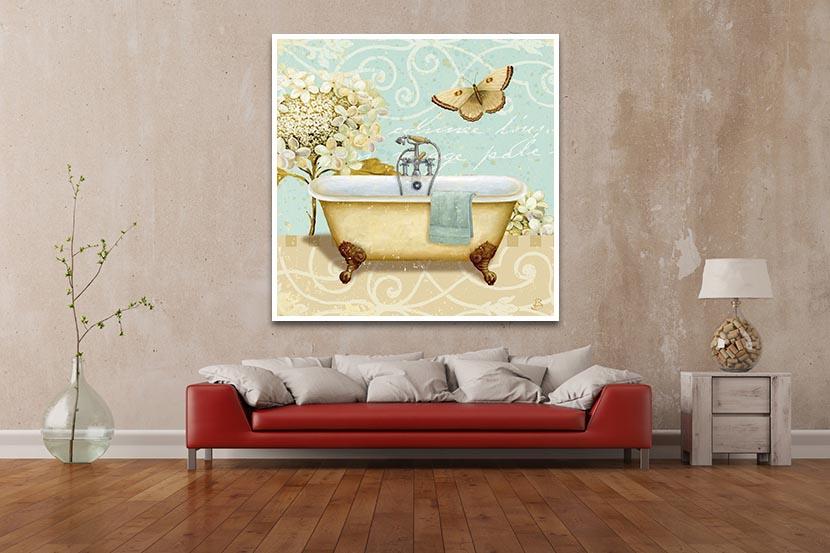 Daphne Brissonnet - Light Breeze Bath I - ART+PLUS vendita stampe su ...