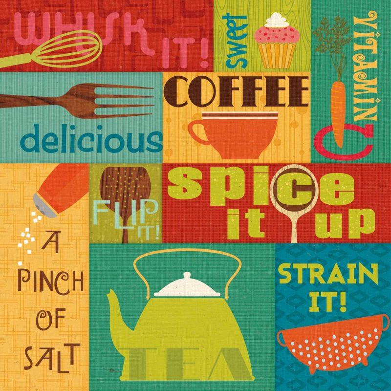 Pela Studio - Kitchen It ! I - ART+PLUS vendita stampe su tela ...