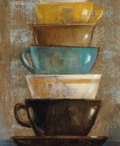 Pila di tazze