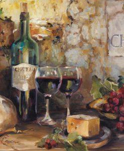 Assaggi di vino e formaggio