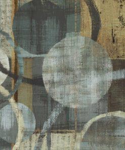 Dipinto astratto con cerchi