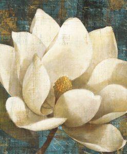 Fiore bianco in stile antico