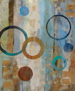 Dipinto astratto di bolle