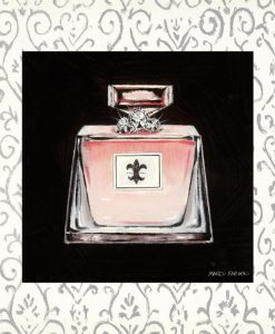 Boccetta di profumo vintage elegante