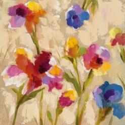 Composizione floreale dai colori brillanti