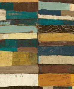 Dipinto geometrico con colori pieni