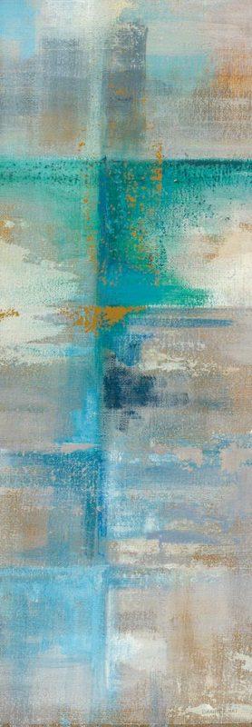 Danhui Nai - Aqua Abstract II Crop