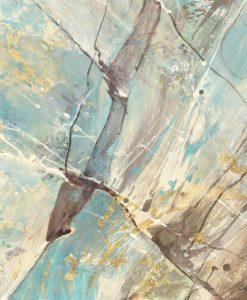 Dipinto che richiama la venatura di un minerale