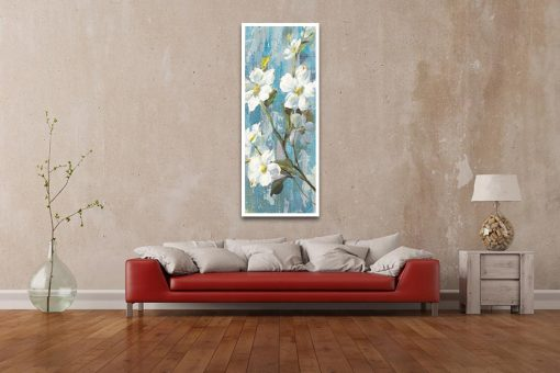 Ambientazione Rami di magnolia fioriti