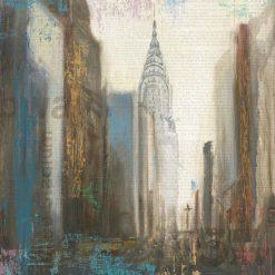 Dipinto astratto di New York
