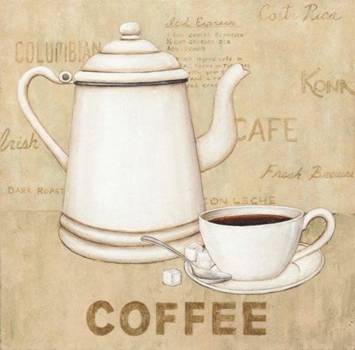 Moca e tazzina del caffè